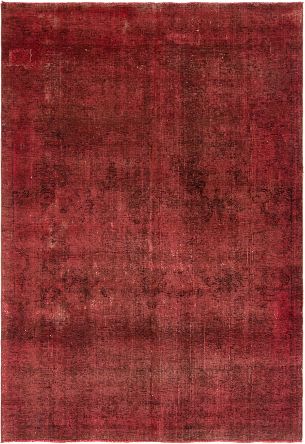 """Hand-knotted Vogue Red Wool Rug 6'5"""" x 9'3"""" Size: 6'5"""" x 9'3"""""""