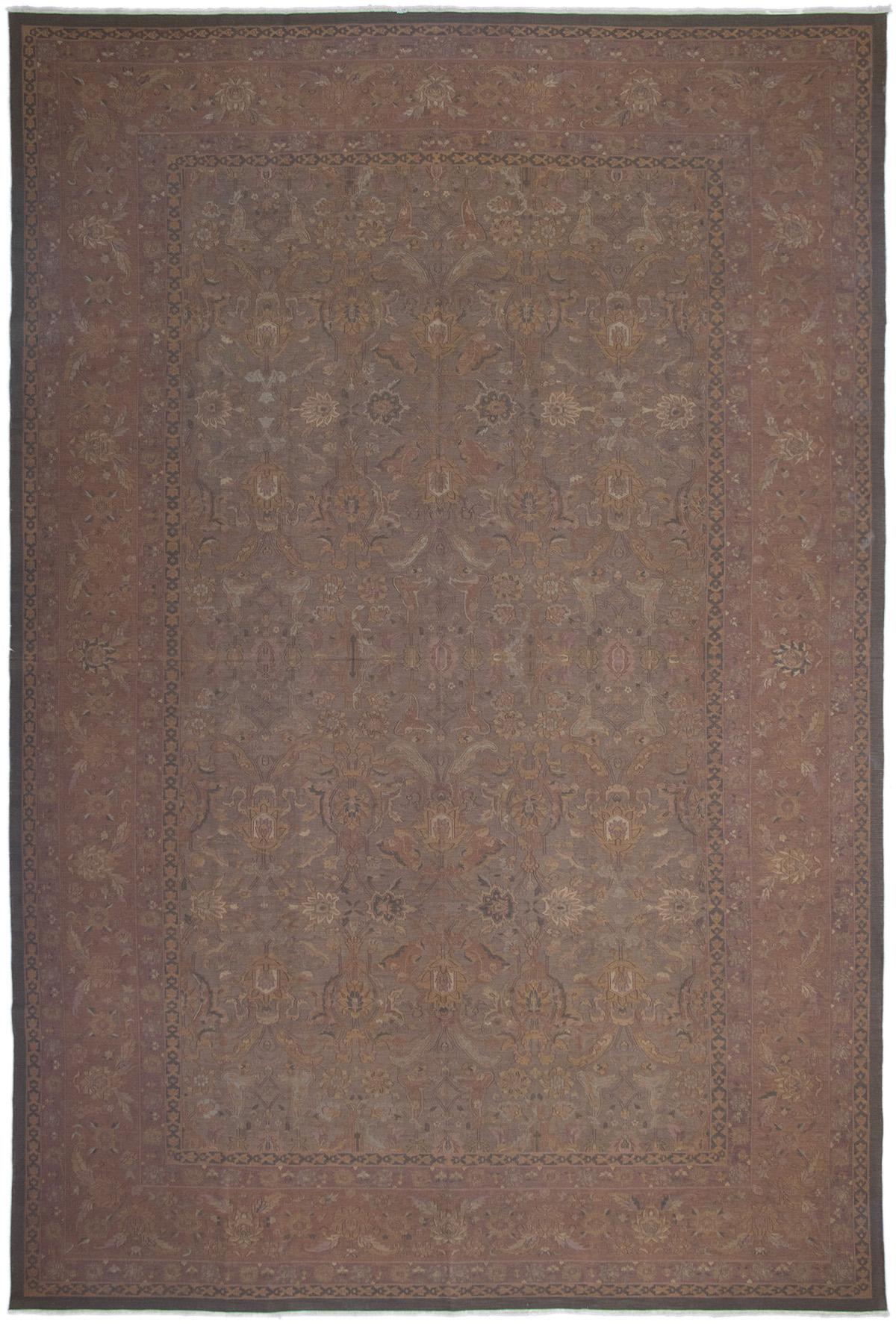 Tapestry   Green   Wool   Dark