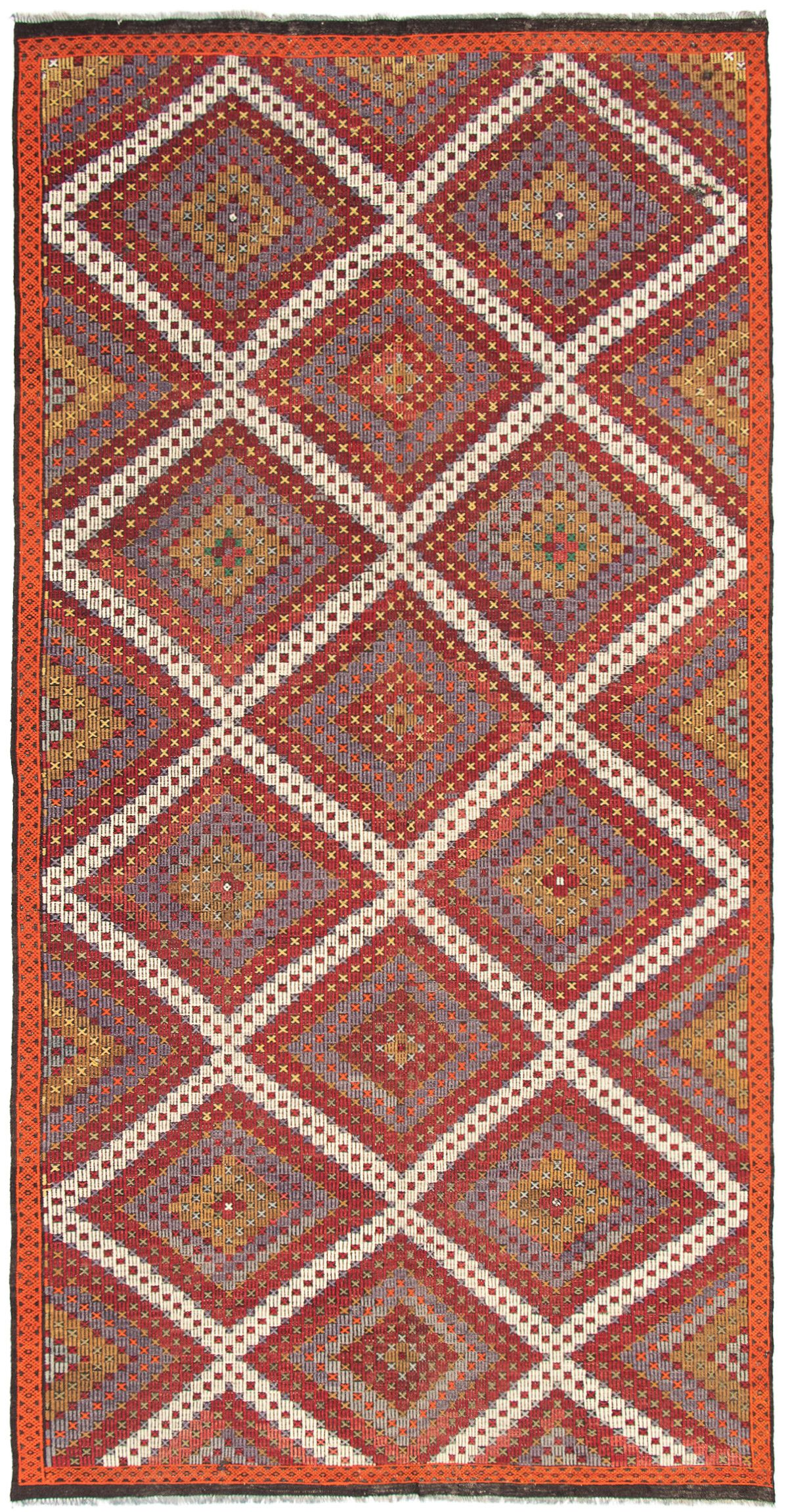 Tapestry | Wool | Dark | Red