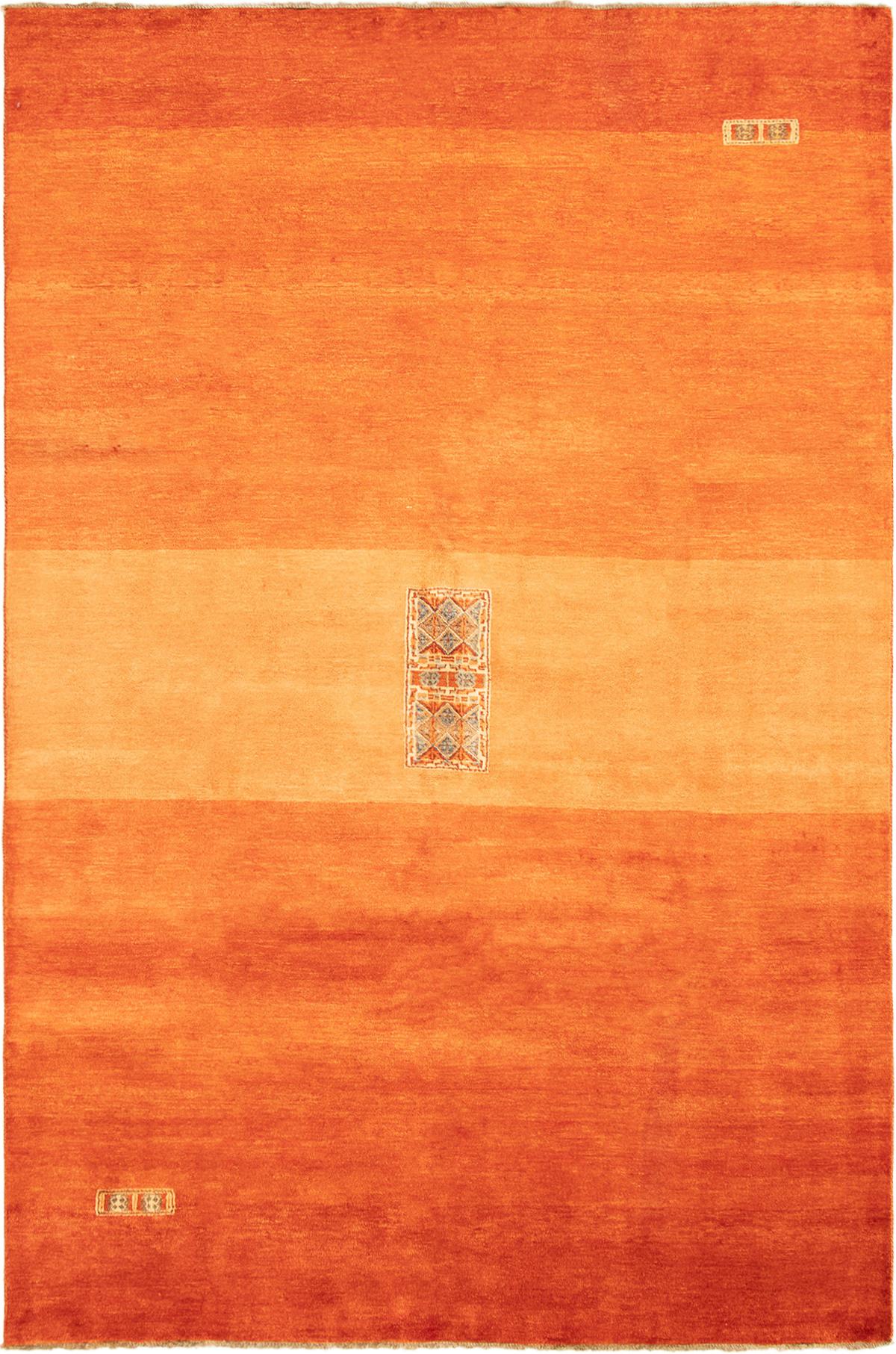 "Hand-knotted Finest Ziegler Chobi Burnt Orange Wool Rug 6'6"" x 9'10"" Size: 6'6"" x 9'10"""