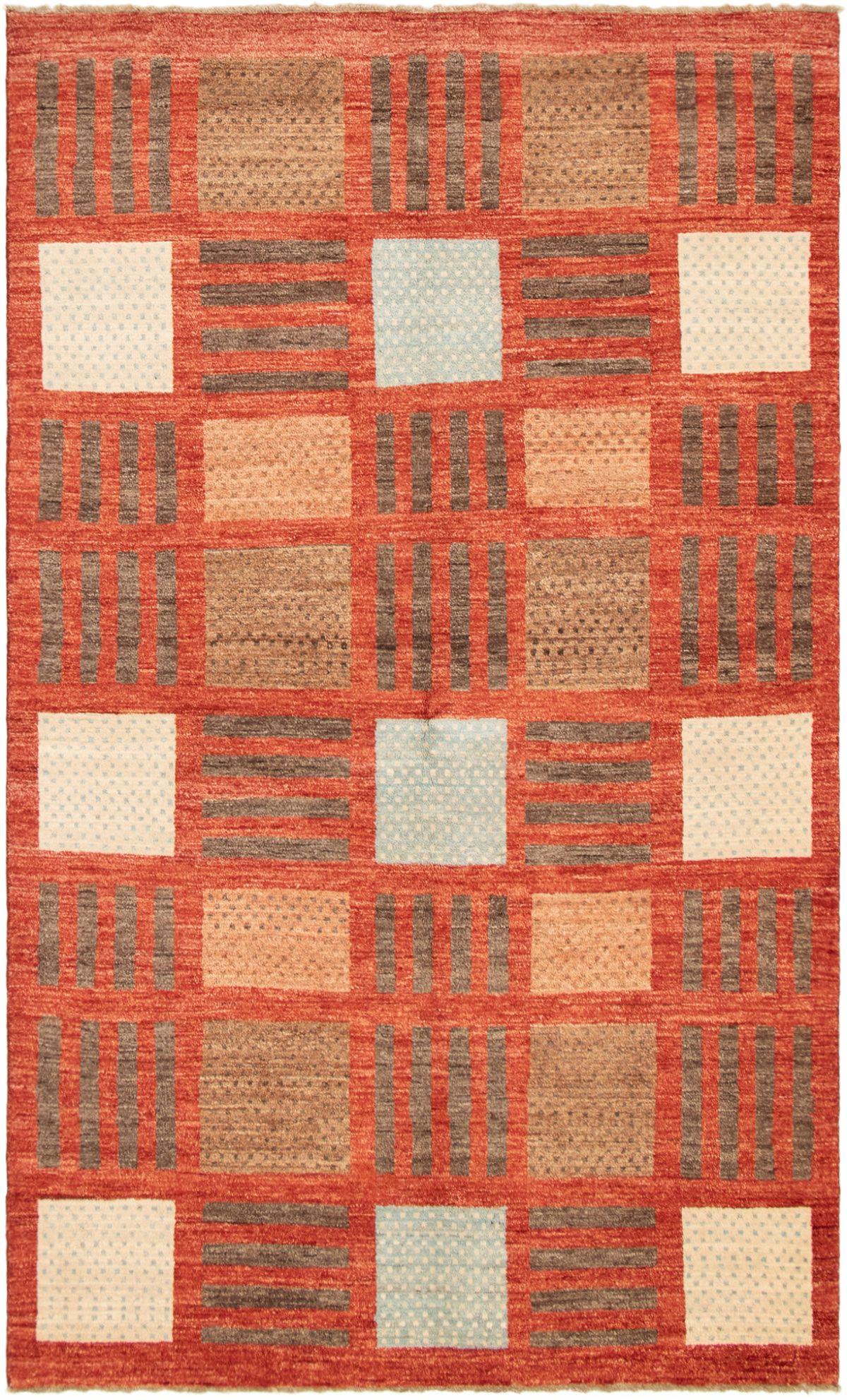 "Hand-knotted Finest Ziegler Chobi Dark Copper Wool Rug 5'5"" x 9'1"" Size: 5'5"" x 9'1"""
