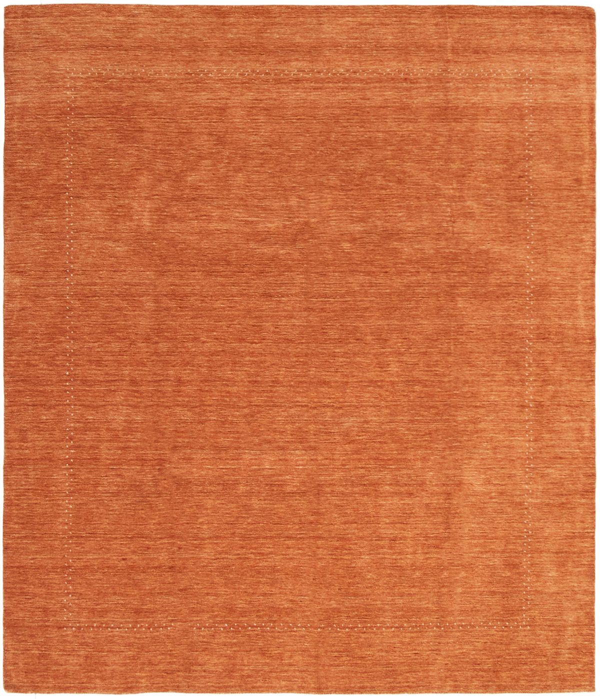 "Hand-knotted Kashkuli Gabbeh Orange Wool Rug 8'2"" x 9'6"" Size: 8'2"" x 9'6"""