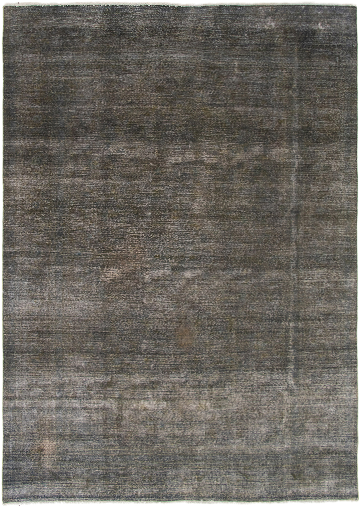 """Hand-knotted Color Transition Dark Green Wool Rug 8'2"""" x 11'4"""" Size: 8'2"""" x 11'4"""""""