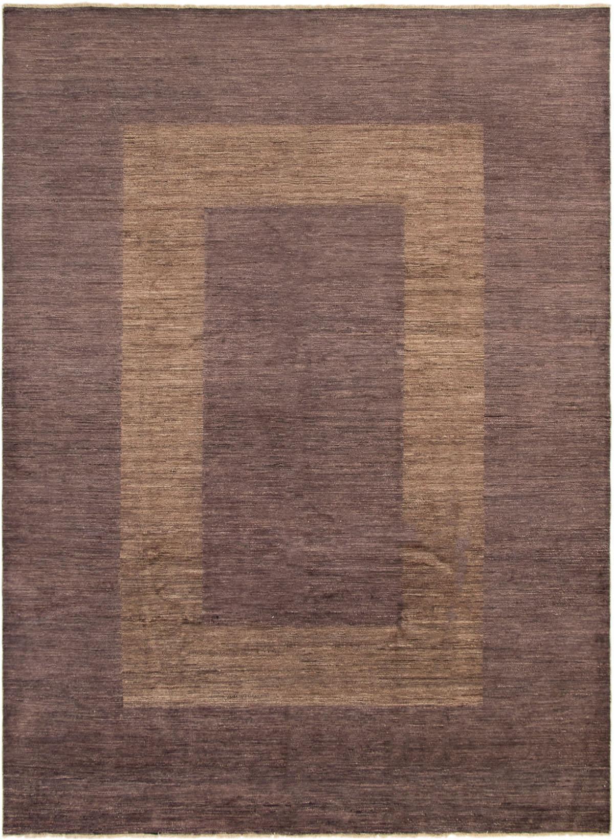 "Hand-knotted Finest Ziegler Chobi Purple Wool Rug 9'1"" x 12'3"" Size: 9'1"" x 12'3"""