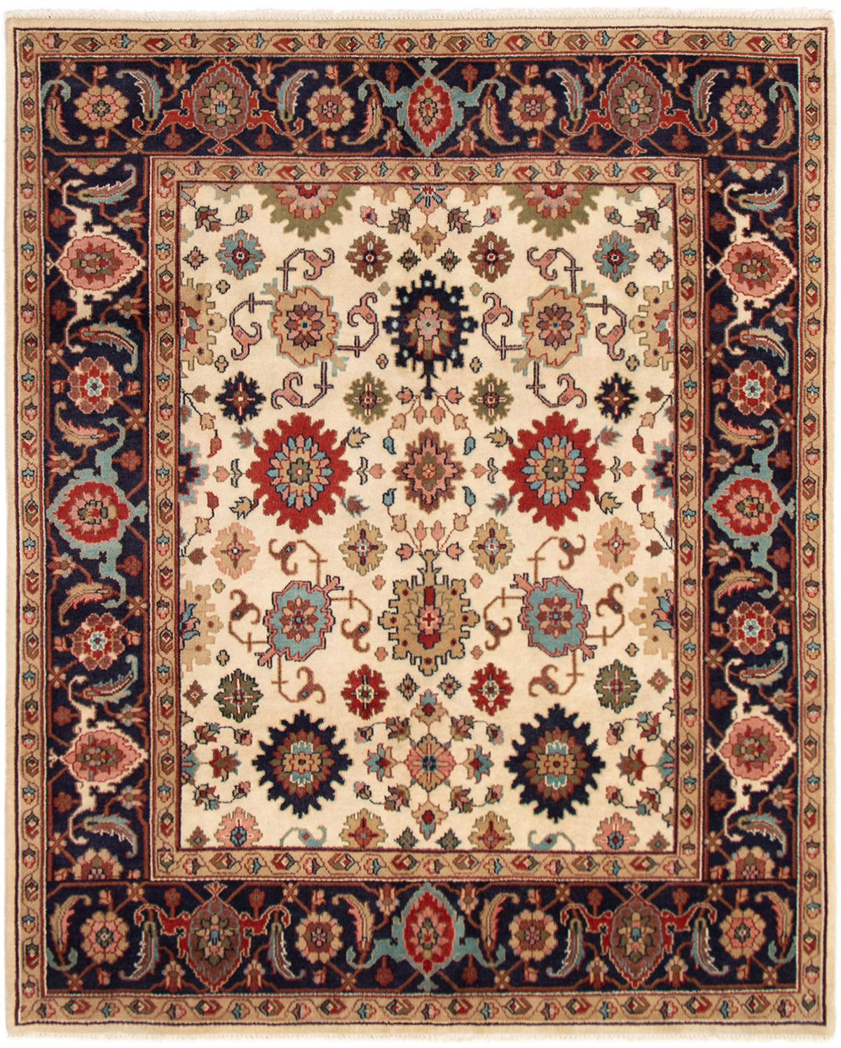 """Hand-knotted Serapi Heritage Cream Wool Rug 8'2"""" x 10'0"""" Size: 8'2"""" x 10'0"""""""