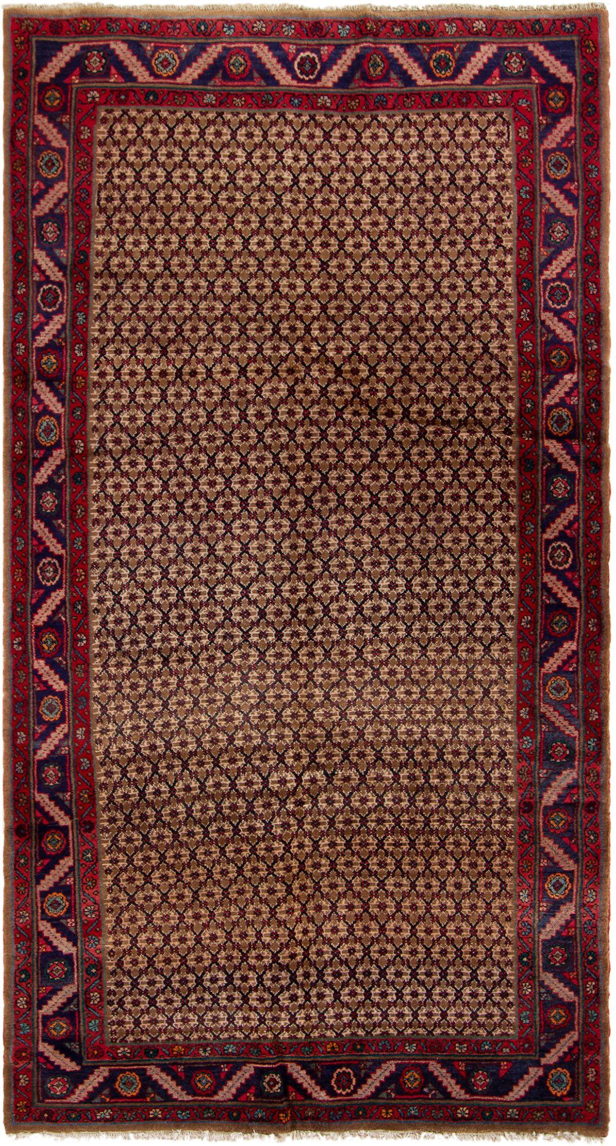 "Hand-knotted Koliai  Wool Rug 5'0"" x 9'8"" Size: 5'0"" x 9'8"""