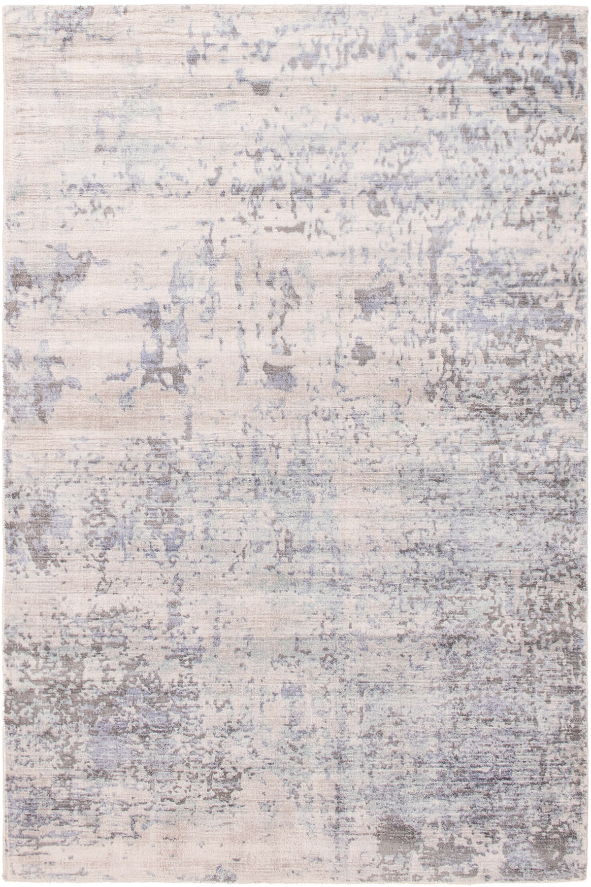 """Hand-knotted Galleria Light Blue  Viscose Rug 5'0"""" x 7'6"""" Size: 5'0"""" x 7'6"""""""