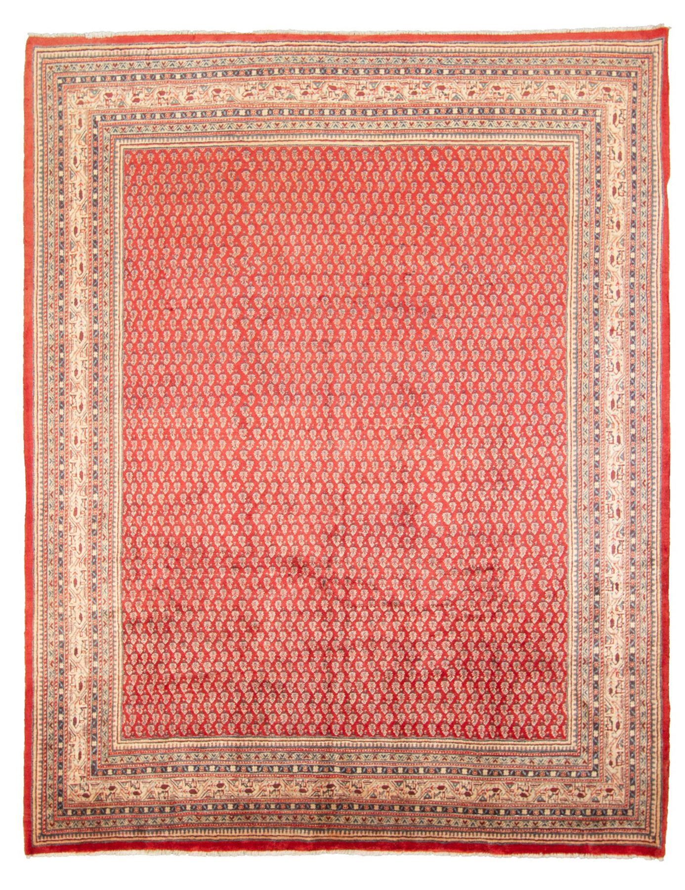"""Hand-knotted Arak  Wool Rug 8'2"""" x 10'7"""" Size: 8'2"""" x 10'7"""""""