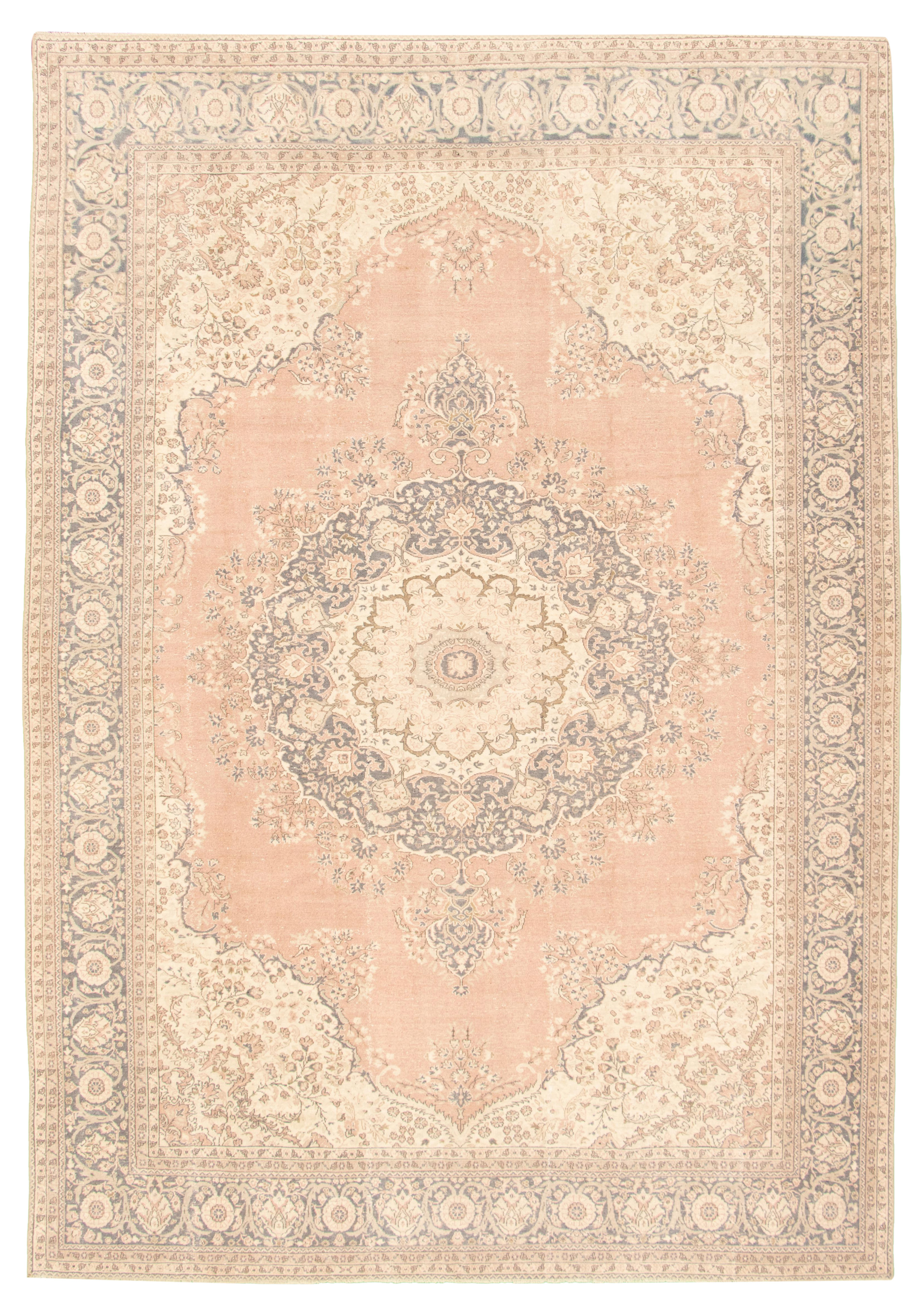 """Hand-knotted Keisari Vintage Copper Wool Rug 8'5"""" x 12'3"""" Size: 8'5"""" x 12'3"""""""