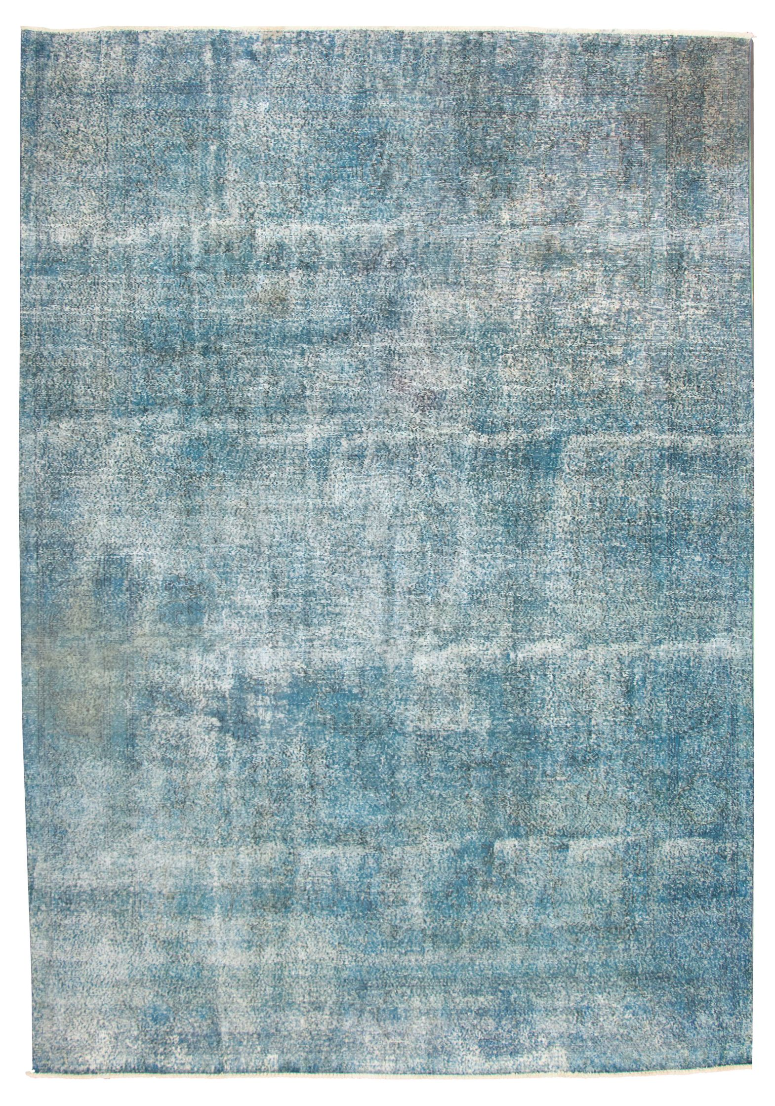 """Hand-knotted Color Transition Dark Blue Wool Rug 9'4"""" x 13'0"""" Size: 9'4"""" x 13'0"""""""
