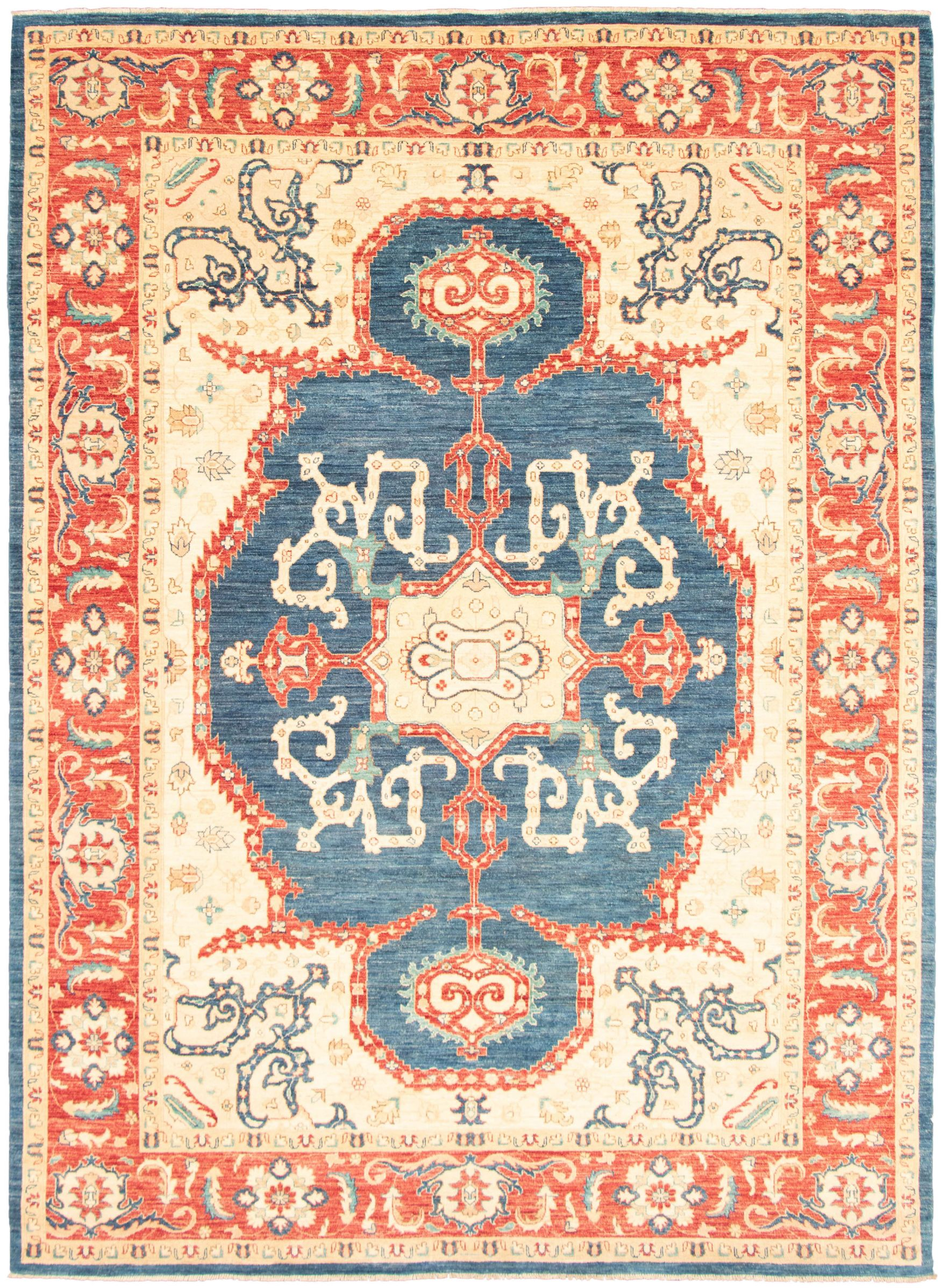 """Hand-knotted Pako Persian 18/20 Dark Blue  Rug 9'1"""" x 12'6"""" Size: 9'1"""" x 12'6"""""""
