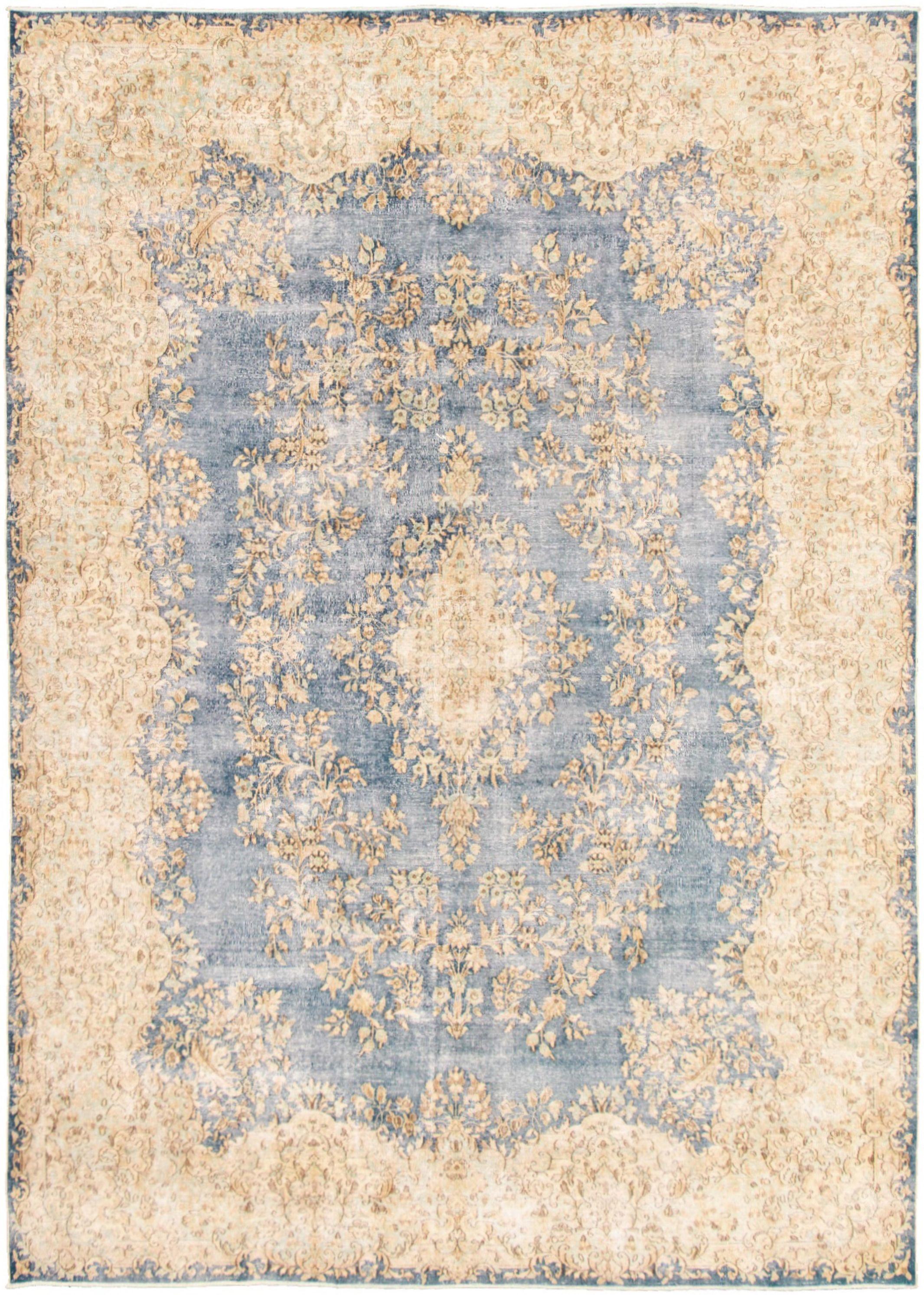 "Hand-knotted Pako Vintage Dark Blue  Rug 7'10"" x 11'0"" Size: 7'10"" x 11'0"""