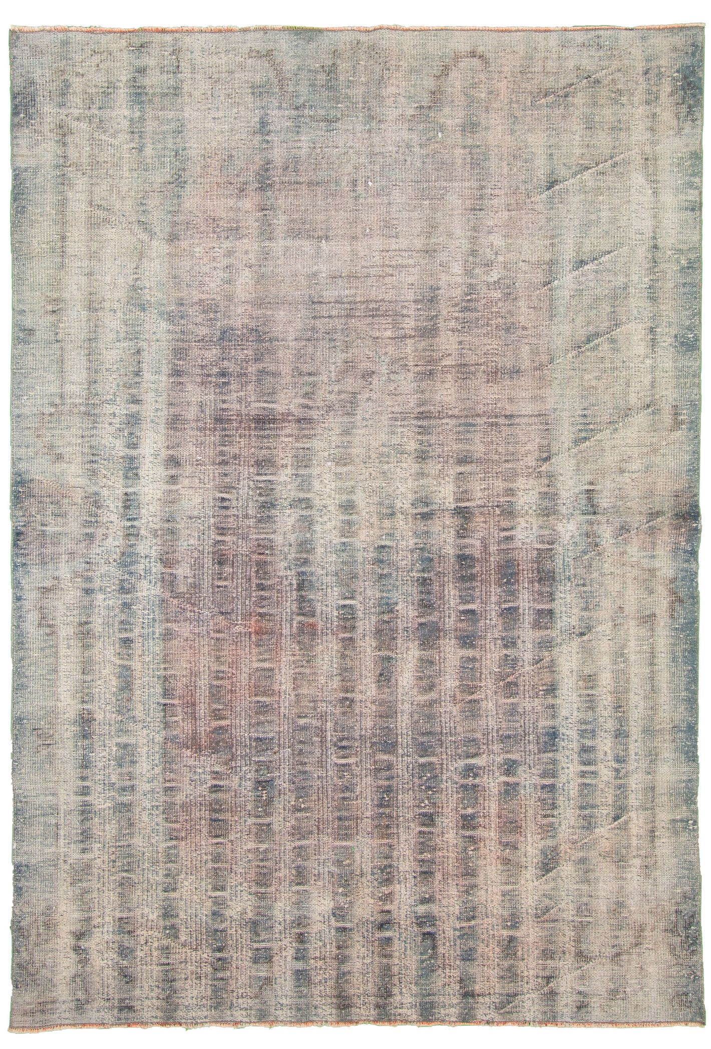 """Hand-knotted Antalya Vintage   Rug 5'6"""" x 9'0"""" Size: 5'6"""" x 9'0"""""""