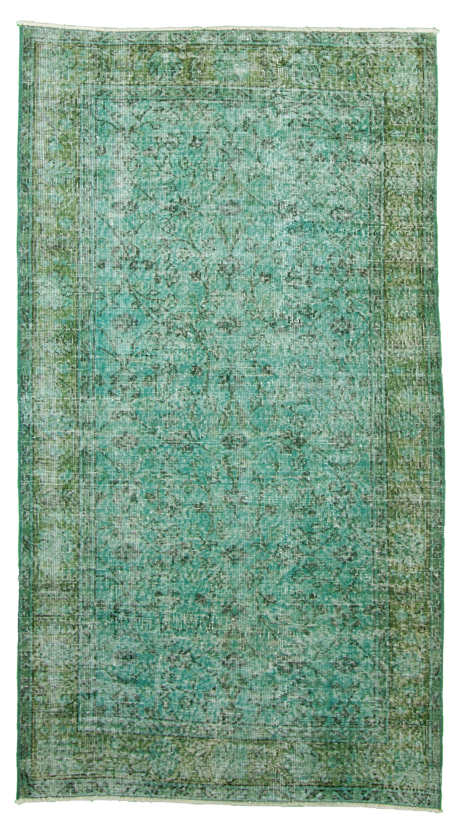 "Hand-knotted Color Transition  Rug 3'8"" x 6'8""  Size: 3'8"" x 6'8"""