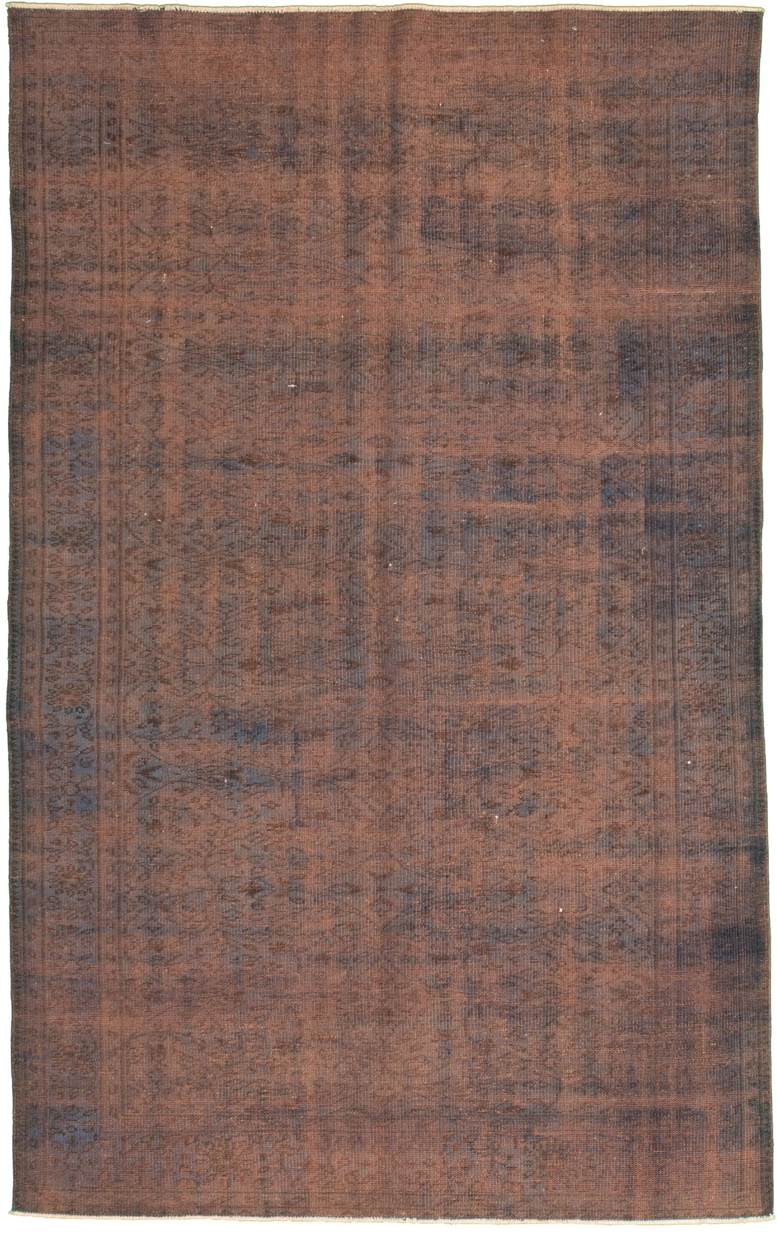 """Hand-knotted Color Transition Blue Wool Rug 5'9"""" x 9'4"""" Size: 5'9"""" x 9'4"""""""
