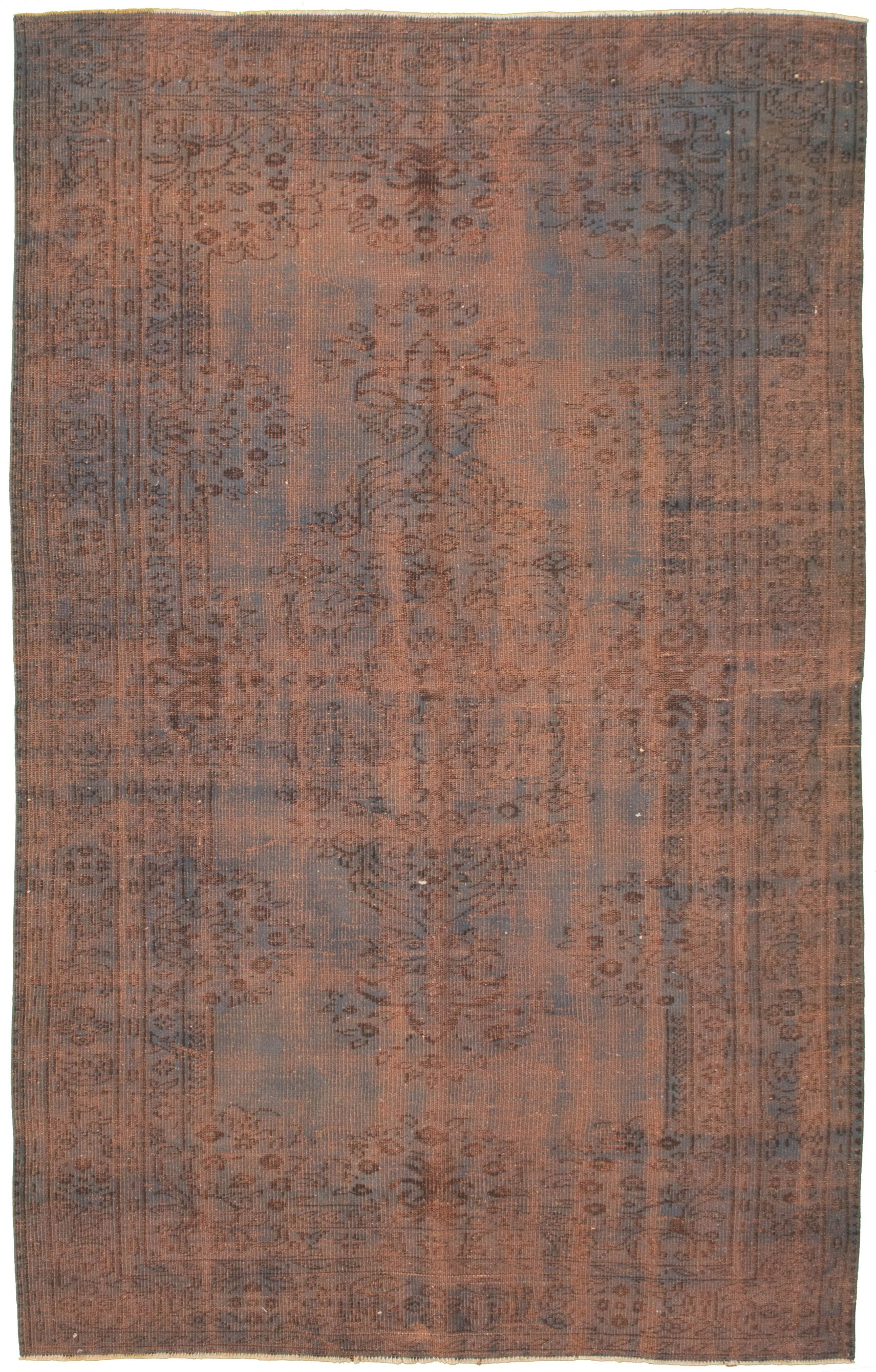"""Hand-knotted Color Transition Blue Wool Rug 6'2"""" x 9'8"""" Size: 6'2"""" x 9'8"""""""