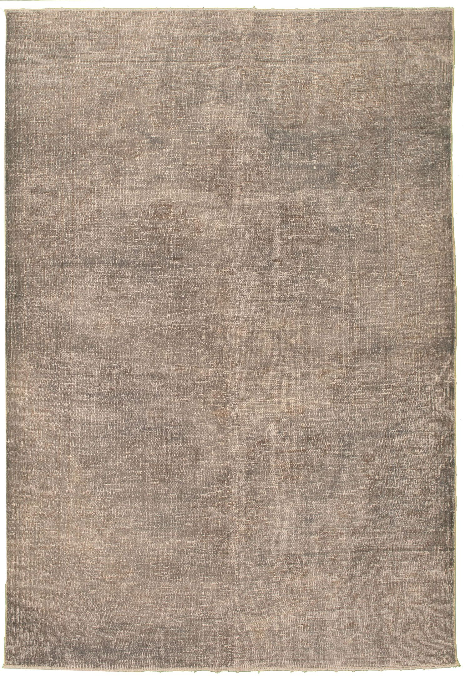 """Hand-knotted Color Transition Grey Wool Rug 6'5"""" x 9'9"""" Size: 6'5"""" x 9'9"""""""